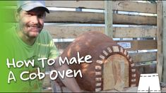 How to make a cob bread oven. Here is the full video on my cob bread oven build. Cob Bread, Bread Oven, Bread Baking, Outdoor Stove, Pizza Oven Outdoor, Oven Diy, Stoves Cookers, Cob Building, Stove Oven