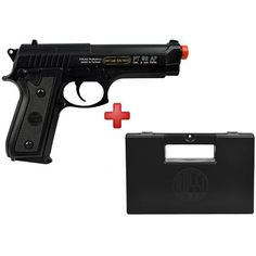 Pistola Airsoft Taurus PT92 Slide Metal - CyberGun + Case Maleta Pistola Rossi Loading that magazine is a pain! Get your Magazine speedloader today! http://www.amazon.com/shops/raeind