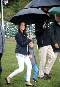 Queens & Princesses - Princess Marie, Prince Joachim and Henrik visited the music festival Tonder including Princess is the godmother.