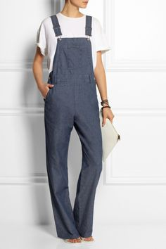 Steinbeck Chambray Overalls from APC | PS Dept.
