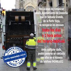 Semana Grande de San Sebastián DEPÓSITO DE LA FRACCIÓN ORGÁNICA