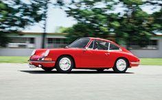 1964 Porsche 901 Prototype Side In Motion