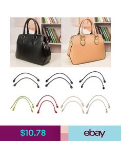 Bag Parts & Accessories High Quality Wood Bead Rope Bag Strap Handle Shoulder Belt For Handbag Diy Replacement And To Have A Long Life.