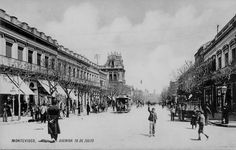 Montevideo - Uruguay  - Av 18 de Julio