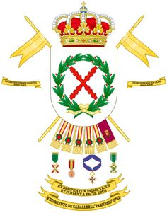 Archivo:Coat of Arms of the Cavalry Regiment Farnesio. Coat Of Arms, Thing 1 Thing 2, Badge, Army, Military, Holiday Decor, Coats, Genealogy, Tattoos