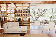 Spatial design in rustic modern home