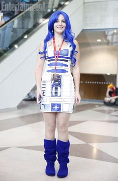 69 best r2 d2 images on pinterest r2 d2 i love me and starwars costumed women of ny comic con 13 comic con costumesgirl halloween costumesstar wars costumesdiy solutioingenieria Images