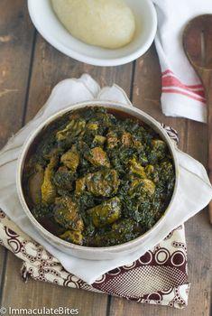 Nigerian Soup Recipe, All Nigerian Recipes, Kenyan Recipes, Soup Recipes, Cooking Recipes, Healthy Recipes, Simple Recipes, Nigeria Food, Cameroon Food