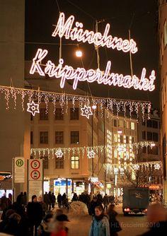 Christmas Markets, Munich Marienplatz