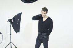 Maniac Magazine Another #bts shot from our shoot this week with Joseph Morgan! We're excited for today's interview!