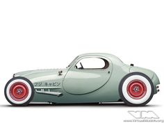 A classically-styled modern hot rod concept from the Land of the Rising Sun.