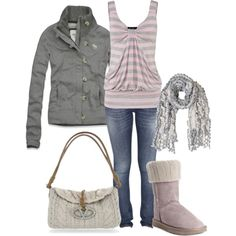 """Pink Comfy"" by kswirsding on Polyvore"