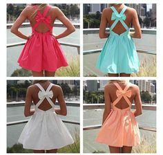 perfect dress in perfect colors.
