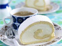 Zitronen-Biskuitrolle - Schritt für Schritt erklärt