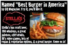 Stella's Lounge :: Strong Drinks, Cheap Beer, Loud Music, No Bullshit. Pinball $25/2 Restaurant week. 53 Commerce Ave SW