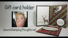 Gift Card Holder using Merry Patterns - Gift Card Holder using Merry Patterns - Gift Cards Money, Itunes Gift Cards, Fun Fold Cards, Folded Cards, Christmas Gift Card Holders, Christmas Cards, Xmas, Card Envelopes, Card Wallet