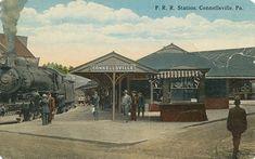 Postcard CONNELSVILLE PA