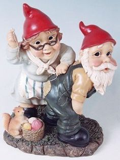 Mr + Mrs Sewing Garden Gnome by Collectible Badges, http://www.amazon.com/dp/B0046QBEFE/ref=cm_sw_r_pi_dp_et7hrb1FKBNT1
