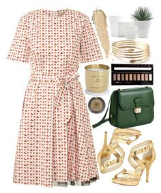 """""""Untitled #4709"""" by prettyorchid22 ❤ liked on Polyvore featuring Forever 21, Orla Kiely, MICHAEL Michael Kors, Tom Dixon, Topshop and Dressage Collection"""