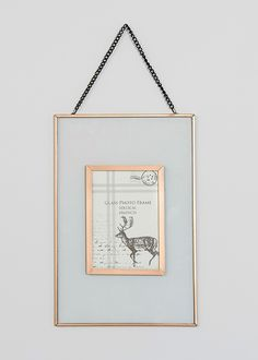 Metal Rim Photo Frame x - Matalan Glass Photo Frames, Gold Picture Frames, Stylish Photo Frames, Hanging Quotes, Navy Bedrooms, Hanging Frames, Matalan, Interior Design, Interior Ideas