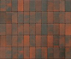 Black - Red paving pads, which could be used for making your garden or yard a more interesting and playful place.