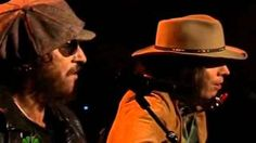 """Neil Young (aka Jimmy Fallon) and Bruce Springsteen singing Willow Smith's """"Whip My Hair."""" (Love how they added the 'stache, etc to Bruce to make him 70s Bruce again. Too funny.)"""