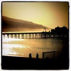 Ahhh, Malibu sunrise
