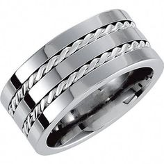 Jewelry & Watches Stainless Steel 8mm Brown Plated Brushed Wedding Ring Band Size 11.00 Fancy Making Things Convenient For Customers