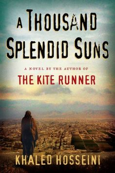 A Thousand Splendid Suns. Intricate. Beautiful.