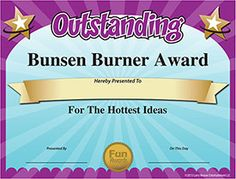 Funny Student Awards Certificate