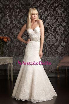 Clásica y Tradicional 2013 vestidos de boda de Trompeta / sirena cariño tribunal cola de organza apliques US$ 269.99 VTOPAJ3KPJG - vestidobello.com for mobile
