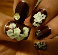 encapsulated lacenailsbybecky from nail art gallery
