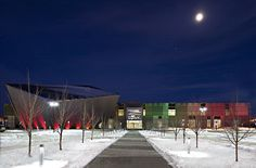 The TELUS Spark Science Center in Calgary, Alberta has insulated roof and wall panels from Kingspan. Insulated Panels, O Canada, Panel Systems, Rest Of The World, Banff, Calgary, Corporate Events, Event Design, Places Ive Been