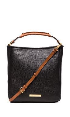 Marc by Marc Jacobs Softy Saddle Large Hobo in Black | REVOLVE