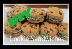 DIY Kid Friendly Treats   Cookie Sandwiches