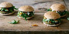 Erbsen-Falafel Burger | KRAUTKOPF