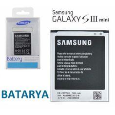 Samsung Galaxy S3 Mini Batarya Pil İ8190 21,75 TL ve ücretsiz kargo ile n11.com'da! Samsung Batarya fiyatı Telefon
