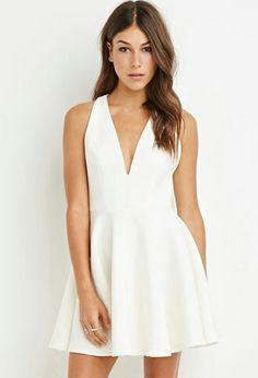Halter Fit & Flare Dress