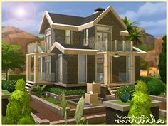The Sims Resource: Miracle house • Sims 4 Downloads