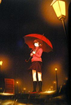 ...the rain...