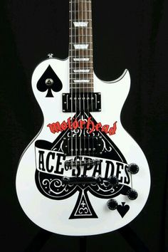 "Motörhead ""Ace of Spades"" Guitar"