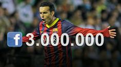 Pedro festeggia 3 milioni di fan su Facebook con un regalo speciale - Sportsays | Social Media Sports News