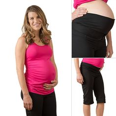 Maternity Workout Clothes From DLVR Maternity | POPSUGAR Moms