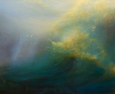 "By Samantha Keely Smith; Title: Harbinger; oil and varnish on canvas, 64"" x 78"", 2014"