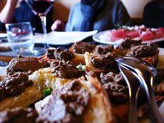 ブルスケッタトスカーナ!http://goo.gl/ywum87  #旨い #ブルスケッタ #前菜 #レバー #美食 #トスカーナ