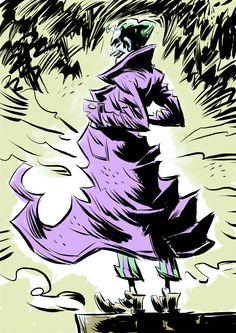 Joker © Pal Christian Andersen from Batman Rogue Gallery Return Of The Joker, The Man Who Laughs, In The Pale Moonlight, Dc World, Joker Pics, Arkham Asylum, Riddler, Joker And Harley Quinn, Comic Art