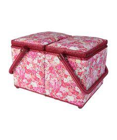 Liberty print sewing box