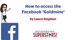 How to access the Facebook 'goldmine' Make Facebook, Facebook Fan Page, Facebook Marketing, Social Media Marketing, Facebook Messenger, Social Media Tips, Work On Yourself, Online Business, Knowledge