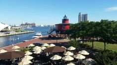 View from ballroom at Pier 5 Hotel