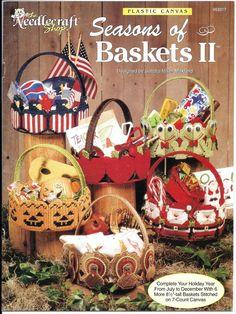Seasons of Baskets II - Seasonal Basket Plastic Canvas Pattern Book